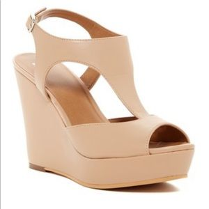 BP nude wedges